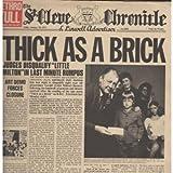 Thick As A Brick LP (Vinyl Album) UK Chrysalis 1972