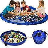 KING DO WAY Kinder Aufräumsack Spieldecke Spielzeug Speicher Tasche Aufbewahrung