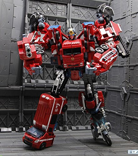 Generic WEIJIANG Transformers 4 Fire Statue Warrior Figure Alloy Edition Model for Kits Toys