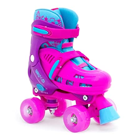 SFR Hurricane Lightning Adjustable Kids Quads Pink Kids 12-2uk