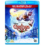 A Christmas Carol (Blu-ray 3D + 2D Blu-ray + Digital Copy) [2009]by Jim Carrey