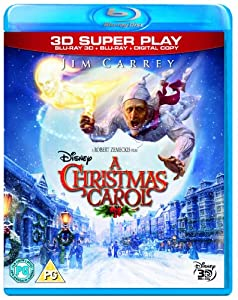 A Christmas Carol (Blu-ray 3D + 2D Blu-ray + Digital Copy) [2009]