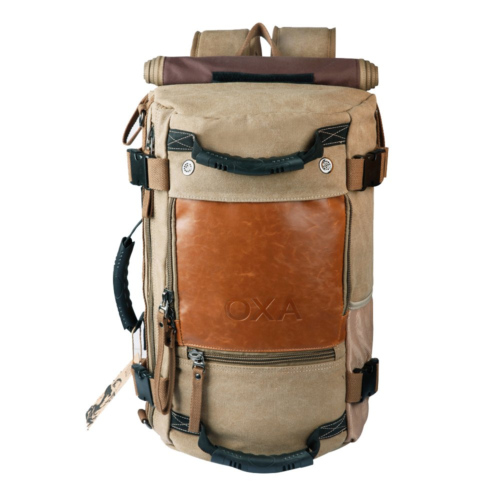 OXA Vintage Canvas Travel Backpack 1