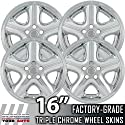 "04-06 DODGE STRATUS 16"" Chrome Wheel Skin Covers"