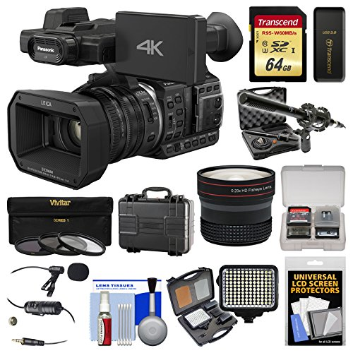 Panasonic HC-X1000 4K Ultra HD Wi-Fi Video Camera Camcorder
