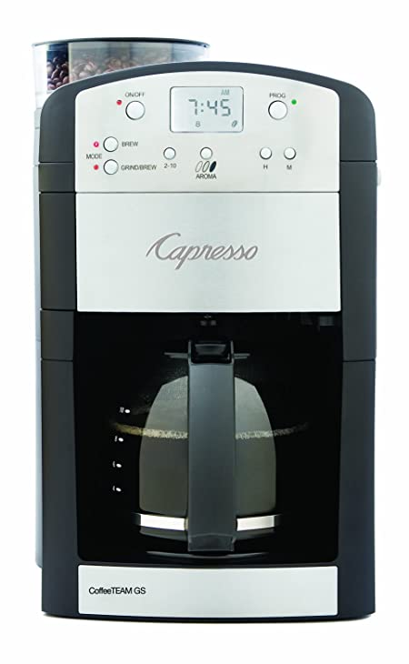 Capresso 464.05 Coffee Team GS 10-Cup Digital Coffeemaker
