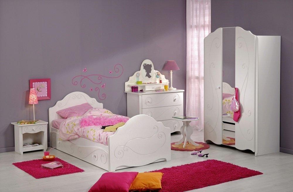 Jugendzimmer Set Alice Komplett 7-teilig weiß online bestellen
