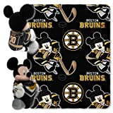 NHL Boston Bruins Mickey Mouse Throw Set