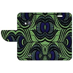 Nokia Lumia 535 Flip Cover - Abstract Designer Flip Cover