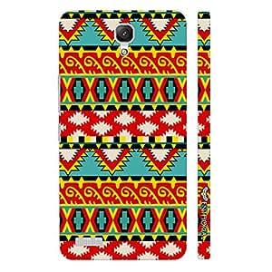 Xiaomi Redmi Note Aztec Twelve designer mobile hard shell case by Enthopia