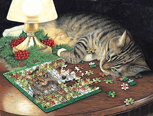 Piece-ful Slumber a 500-Piece Jigsaw Puzzle by Sunsout Inc.