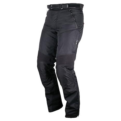 Modeka oTTAWA pantalon en tissu noir
