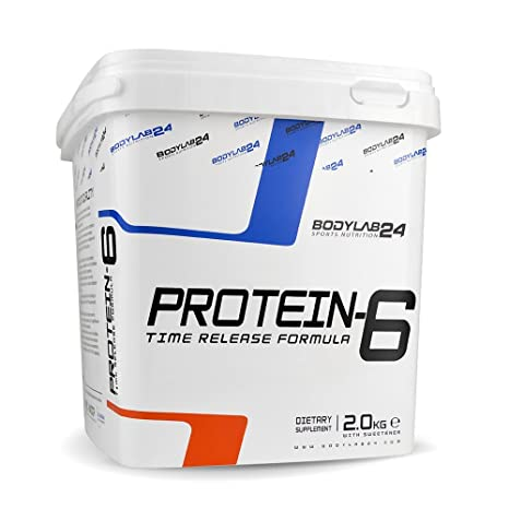 Bodylab24 Protein-6 Schoko, 1er Pack (1 x 2 kg)