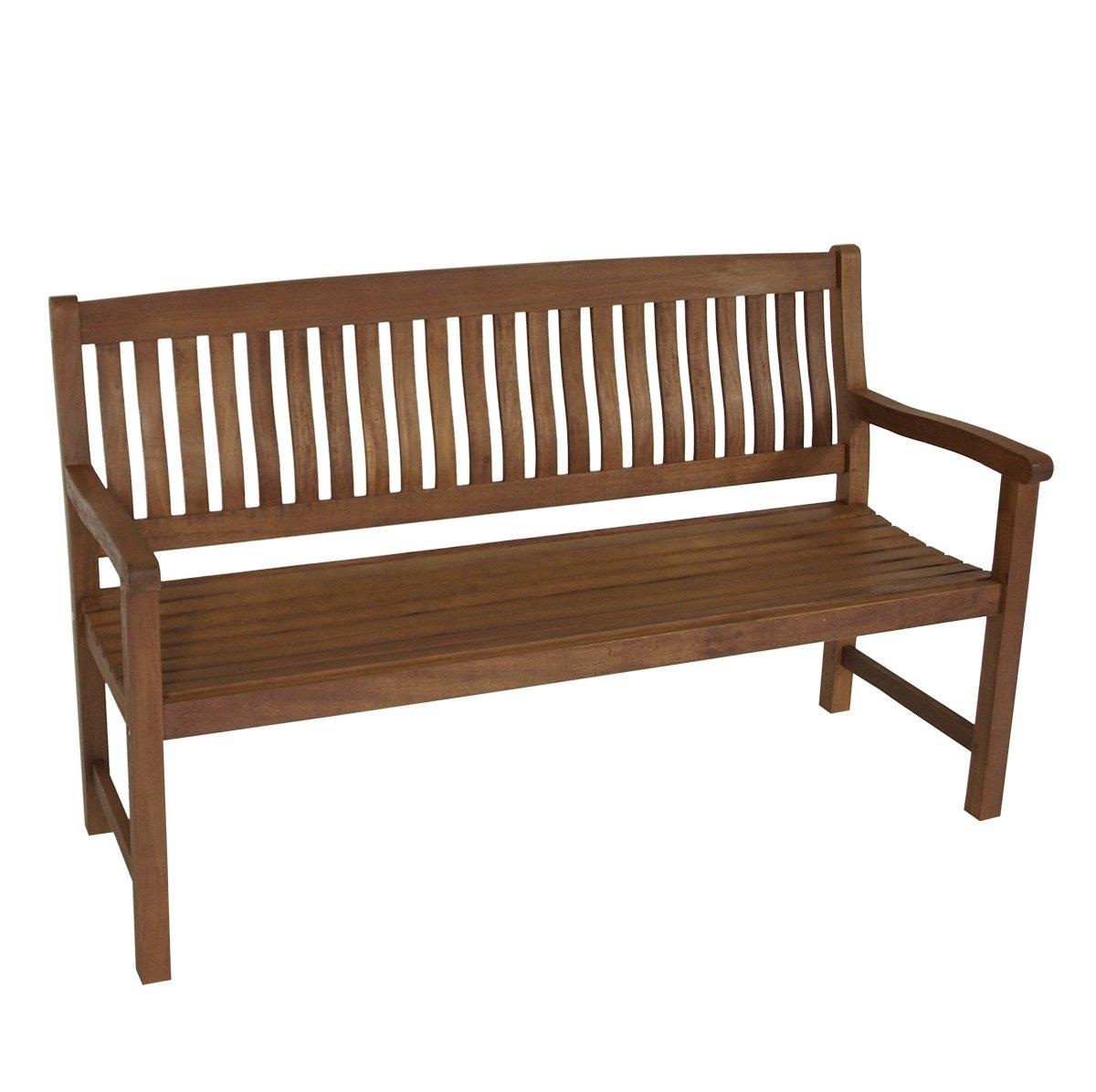 gartenbank manaus 3 sitzer eukalyptus dunkel ge lt fsc. Black Bedroom Furniture Sets. Home Design Ideas
