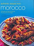 img - for Authentic Recipes from Morocco (Authentic Recipes Series) book / textbook / text book