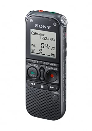 Sony ICD-AX412 Stereo Digital Voice Recorder (Color: Black)