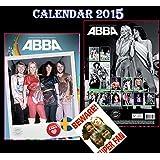 ABBA 2015 KALENDER CALENDAR + ABBA BEWARE DOOR SIGN
