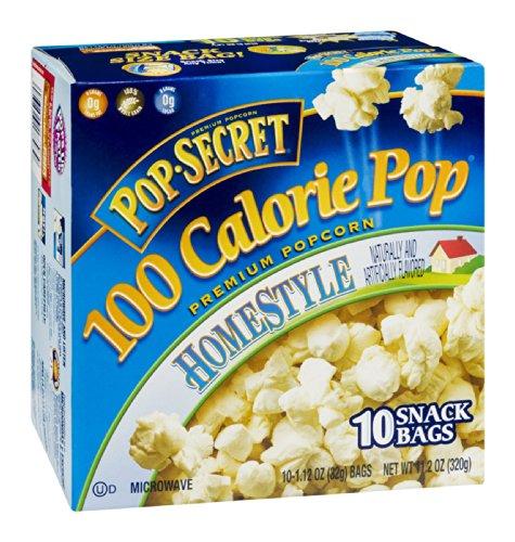 Pop-Secret 100 Calorie Pop Homestyle Microwave Popcorn 11.2 Oz (Pack Of 12)