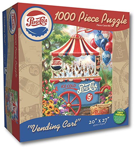 Karmin International Pepsi Vending Cart Puzzle (1000-Piece)