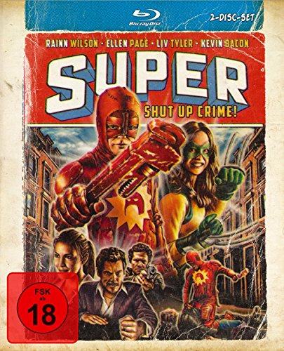 Super - Shut Up, Crime! - Mediabook Edition (+ DVD) [Blu-ray]