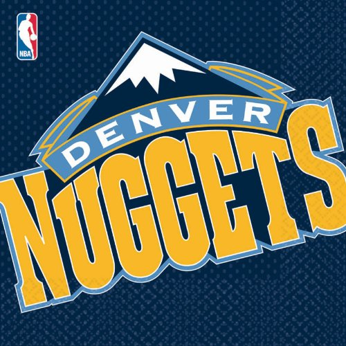 Denver Nuggets Basketball - Lunch Napkins Party Accessory - 1