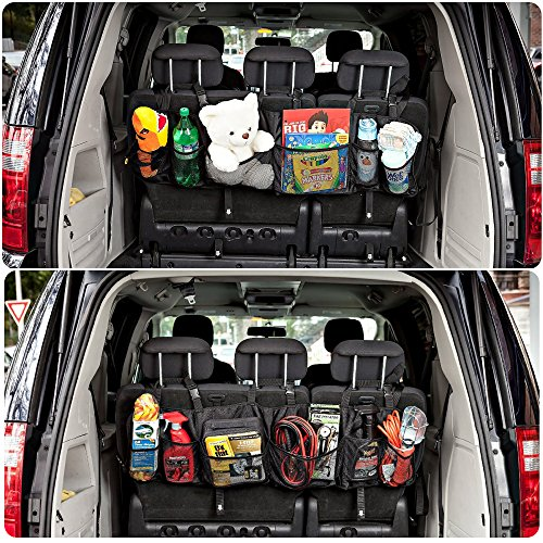 top best premium quality automotive trunk organizer for suv car truck minivan durable. Black Bedroom Furniture Sets. Home Design Ideas