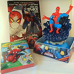 Marvel ultimate spider man activity pack for Crayola ultimate spiderman mini coloring pages