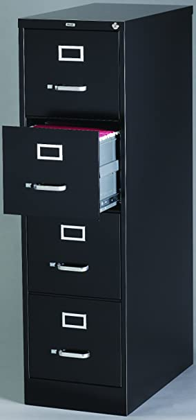 Staples Vertical File Cabinet, 26-1/2