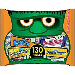 Nestle Assorted Halloween Chocolate & Sugar Candy, 48 Ounce