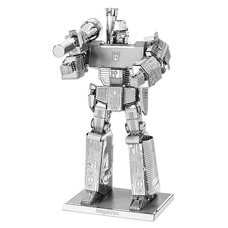 Megatron: Transformateurs métal découpé au laser Earth 3D Model Kit miniature 2 feuilles