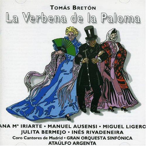 La Verbena De La Paloma (iriarte , Ausensi) - Breton -  CD