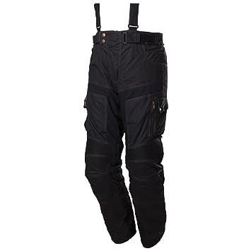 Modeka gLASGOW wachshose pantalon en tissu noir