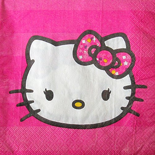 Hello-Kitty-Fashion-Lunch-Napkins-16ct