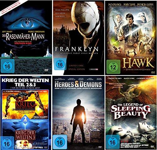 Die Kult Fantasy Collection (7 Filme auf 6 DVDs) (mit Hawk - Der Rasenmäher-Mann)