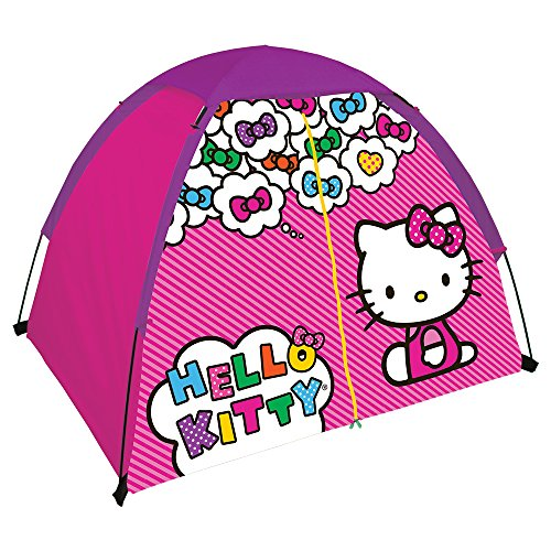 Hello-Kitty-Youth-2-Pole-Dome-Tent-with-Zip-T-Doors-4-x-3-Feet-x-36-Inch-Pink