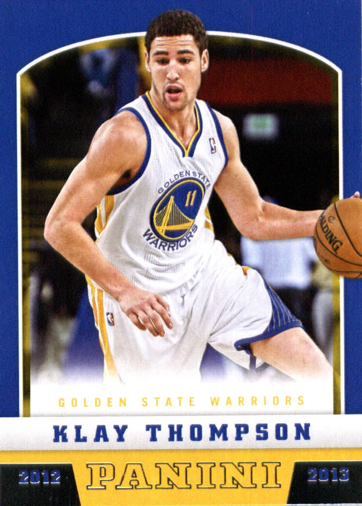 2012 /13 Panini Basketball Rookie Card #207 Klay Thompson Golden State Warriors 2008 donruss sports legends 114 hope solo women s soccer cards rookie card