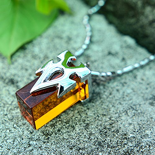 Onecos Sword Art Online SAO Metastasis Crystal Necklace Yellow - 1