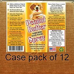 Dog Food Flavor Spray 12-8 Oz. Bottles
