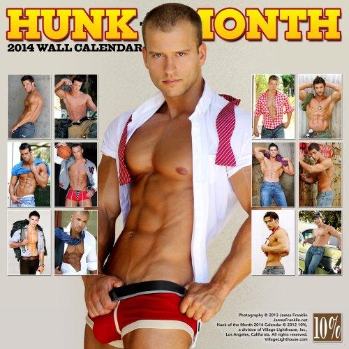 Hunk of the Month 2014 Calendar (Calendars)