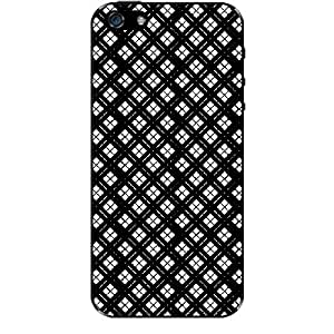 Skin4gadgets BLACK & WHITE PATTERN 38 Phone Skin for IPHONE 5