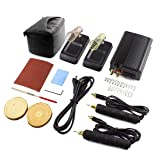 Tekchic Professional Wood Burning Kit, Dual Wood Burner with 20 Pyrography Wire Tips and Digital Temperature Control for Wood Leather and Gourd with Case