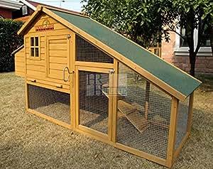 Chicken Coops Imperial - Poulailler Sandringham (190cm) - Jusqu'À 4 Poules - Système De Verrouillage Innovant