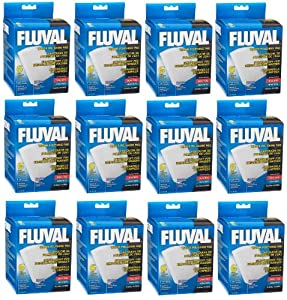 Hagen 72-Pack Fluval Fine Aquarium Water Filter with Polishing Pad for 304/305/404/405 Model