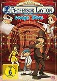 DVD Cover 'Professor Layton und die ewige Diva - Der Kinofilm