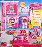 BARBIE 3 STORY DREAMHOUSE 'FURNISHED' DREAM HOUSE Over 3 FEET Tall w 50+ Pieces, LIGHTS, SOUNDS, Working ELEVATOR & More! (2011)