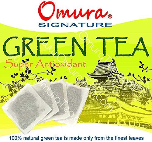 Omura Signature Antioxidant Green Tea, Pack 25