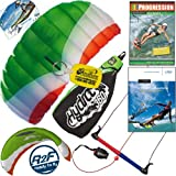 HQ Hydra II 350 V2 Kiteboarding Trainer Kite Bundle : Including Progression Beginner... by HQ Power Kites, Fat Sand Video Productions, IKO, WindBone