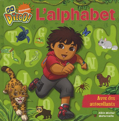 Go Diego - L'Alphabet  Collectif, grand format