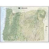 Oregon [Tubed] (National Geographic Reference Map)
