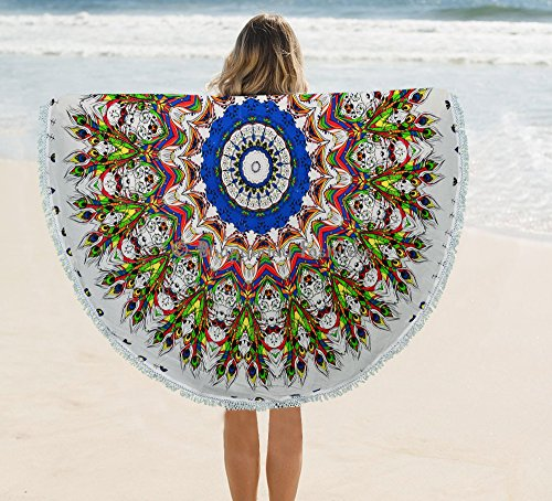 psychedelique-mandala-indien-plume-de-paon-tapisserie-murale-rond-a-suspendre-roundies-plage-serviet